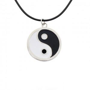 Pandantiv Medalion Lantisor Colier Yin Yang zumyang0001