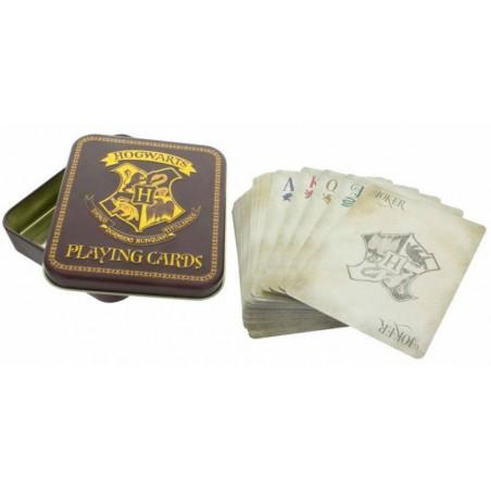 Carti de joc Harry Potter + cutie metalica ZUMPP3214HP Carti de joc