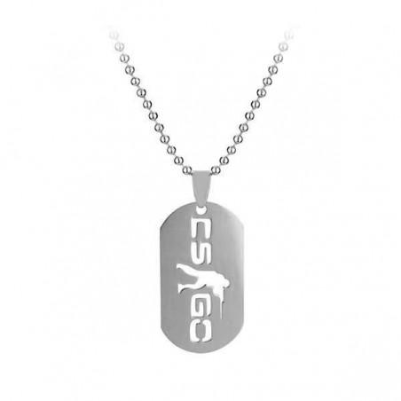 Medalion Lantisor Colier Dog Tag CS GO ZUM895 Diverse