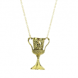 Pandantiv Medalion Lantisor Colier HARRY POTTER CUPA - Helga Hufflepuff Horcrux med127 Medalioane