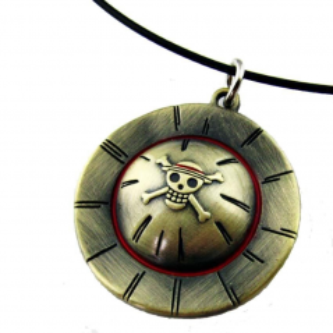 Pandantiv Medalion Lantisor One Piece zum97 Medalioane
