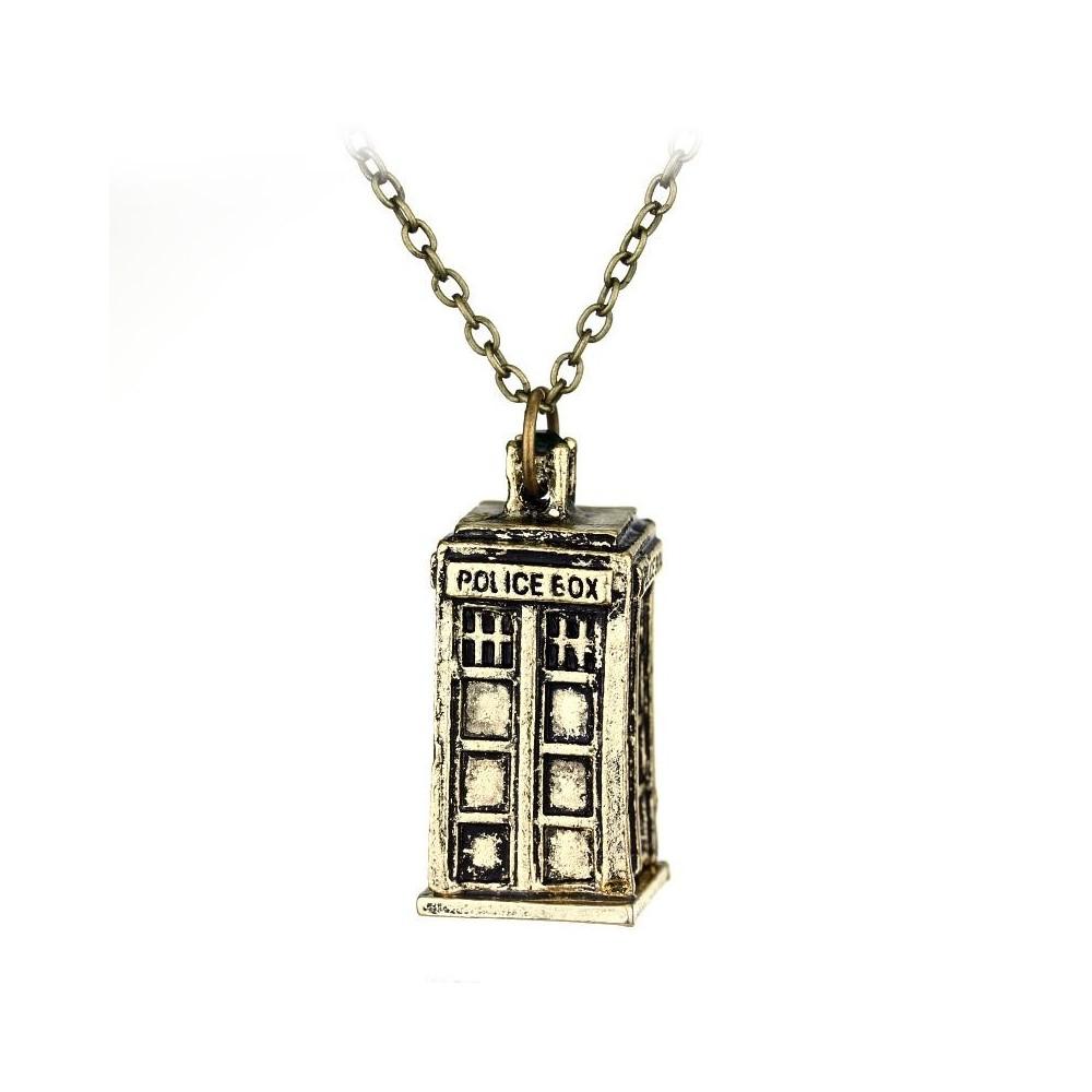 Lantisor Cu Pandantiv Doctor Who Police Box , Maro med111 Doctor Who Diverse
