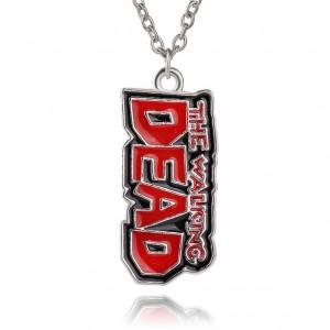 Pandantiv Medalion Lantisor The Walking Dead zum81 Medalioane