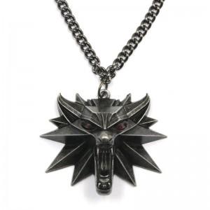 Pandantiv Medalion Lantisor Colier The Witcher 3 Wild Hunt cu led - Jinx - Original JNXWLFMDLLNLED Colectabile
