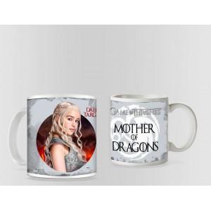 Cana Game Of Thrones Daenerys Targaryen Mother of Dragons mug26 Game of Thrones Cani