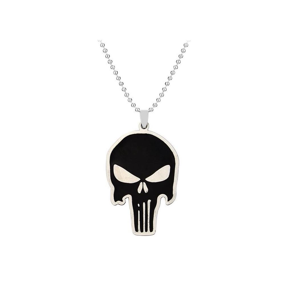 Pandantiv Medalion Lantisor Colier The Punisher med34