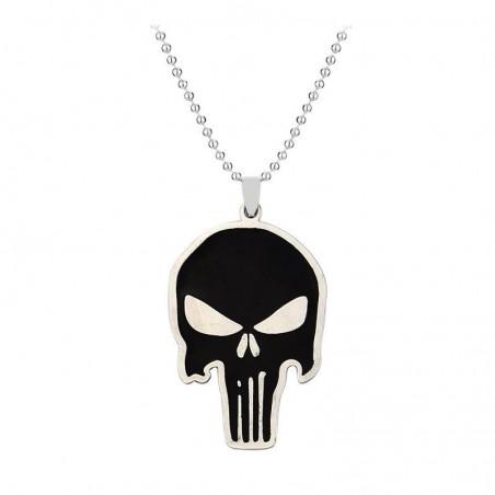 Pandantiv Medalion Lantisor Colier The Punisher med34 Medalioane