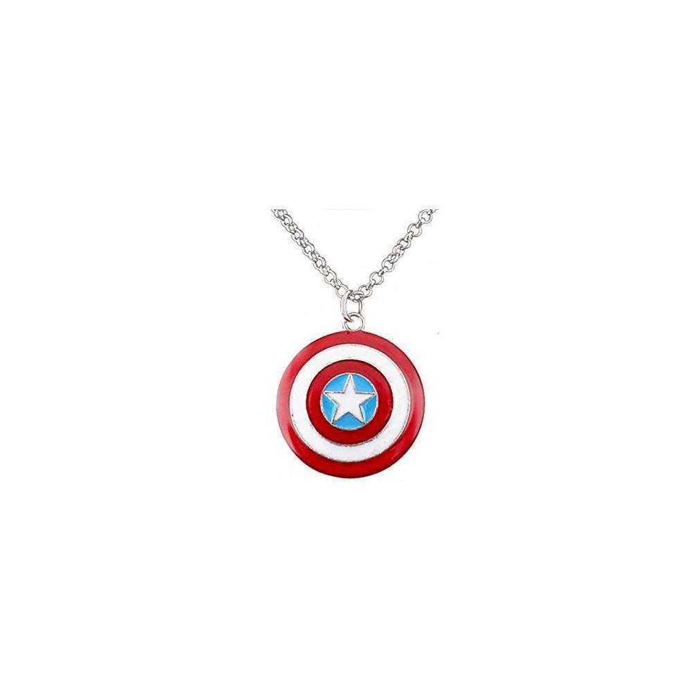 Lantisor Cu Pandantiv Captain America Capitanul America medcaptain Captain America Diverse