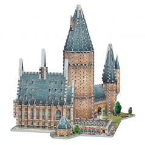 Puzzle 3D Harry Potter Hogwarts - Great Hall 850 Piese - Original WP-W3D-2014 Harry Potter Puzzle