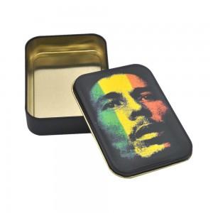 Cutie metalica depozitare Tutun Tigari Bob Marley 148 Articole si accesorii tutun