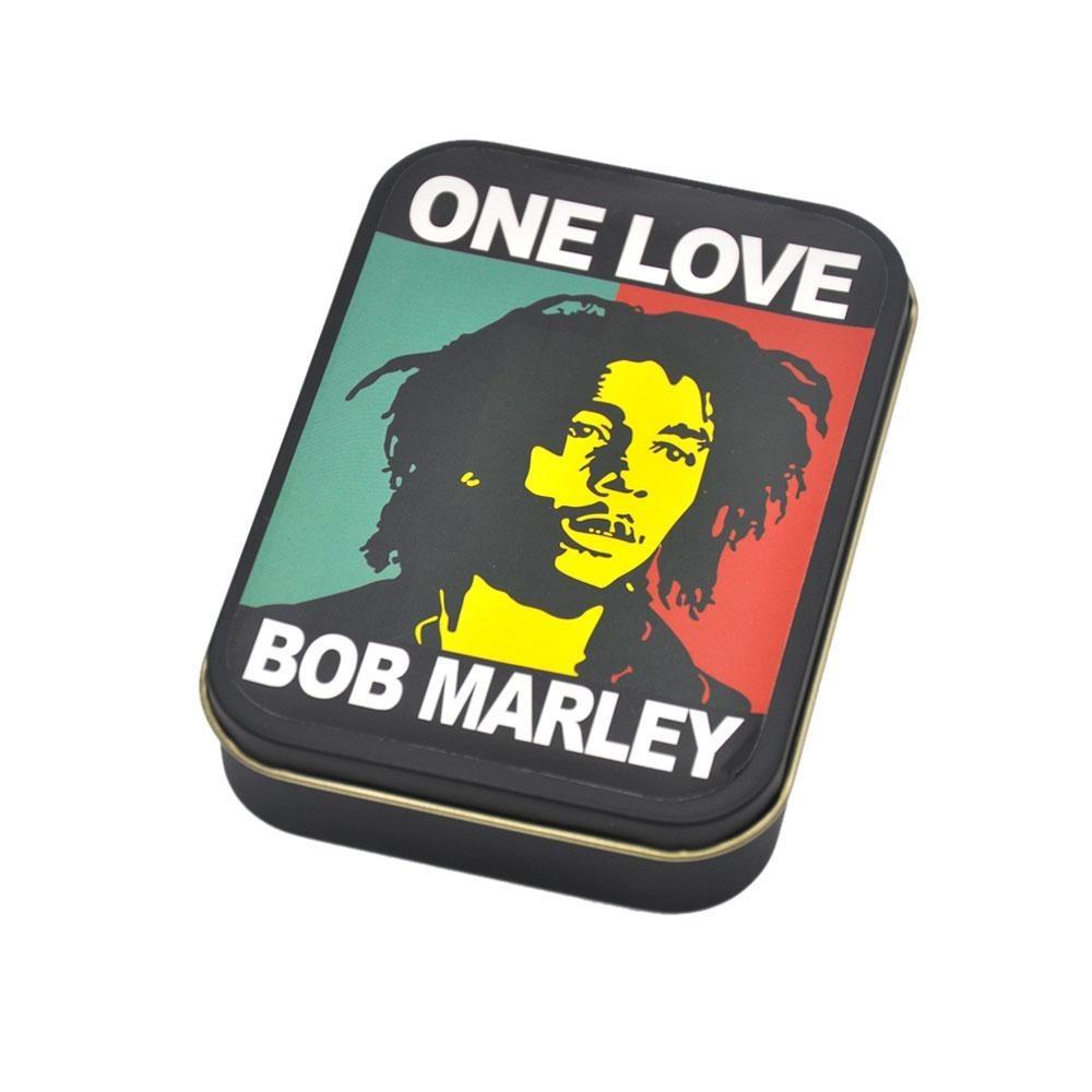 Cutie metalica depozitare Tutun Tigari Bob Marley 147