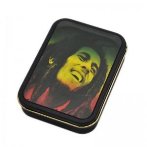 Cutie metalica depozitare Tutun Tigari Bob Marley 146 Articole si accesorii tutun