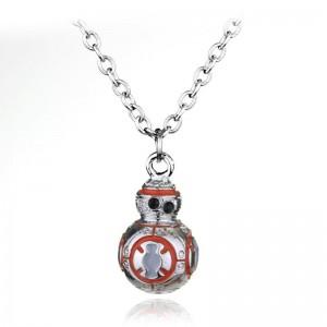Pandantiv Medalion Lantisor Star Wars BB8 zum280 Medalioane