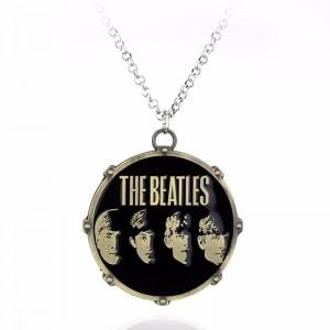 Lantisor Cu Pandantiv The Beatles , Bronze zum302 The Beatles Diverse Medalioane