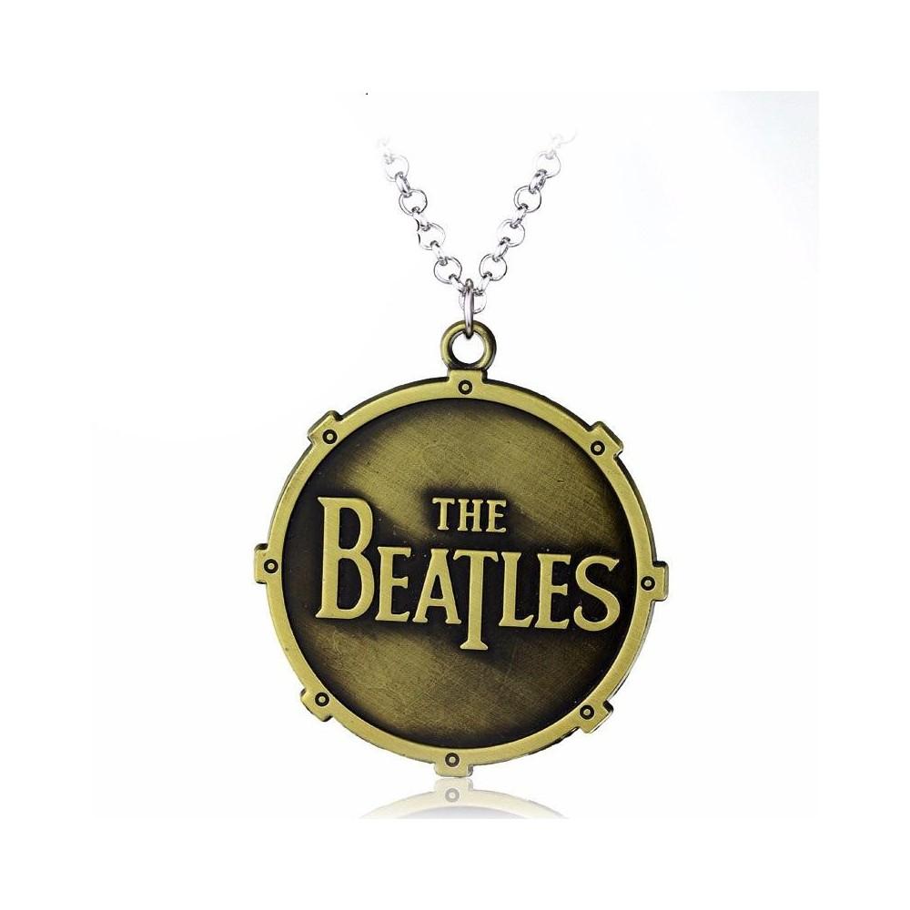 Lantisor Cu Pandantiv The Beatles Toba Bronze zum304 The Beatles Diverse Medalioane