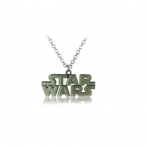 Pandantiv Medalion Lantisor Star Wars Logo Bronze zum306 Medalioane
