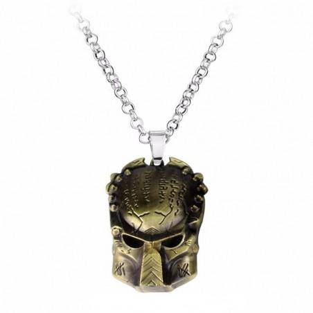 Pandantiv Medalion Lantisor Alien Vs Predator Masca Bronze zum311 Medalioane