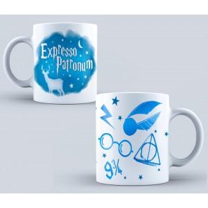 Cana Harry Potter - Expresso Patronum mug13 Harry potter Cani