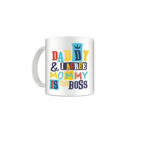 Cana Mommy is the boss mug19 Zumzeria Cani