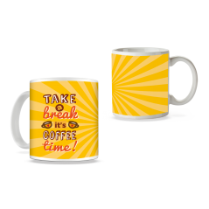 Cana Take a break it's coffee time ! mug21 Zumzeria Cani