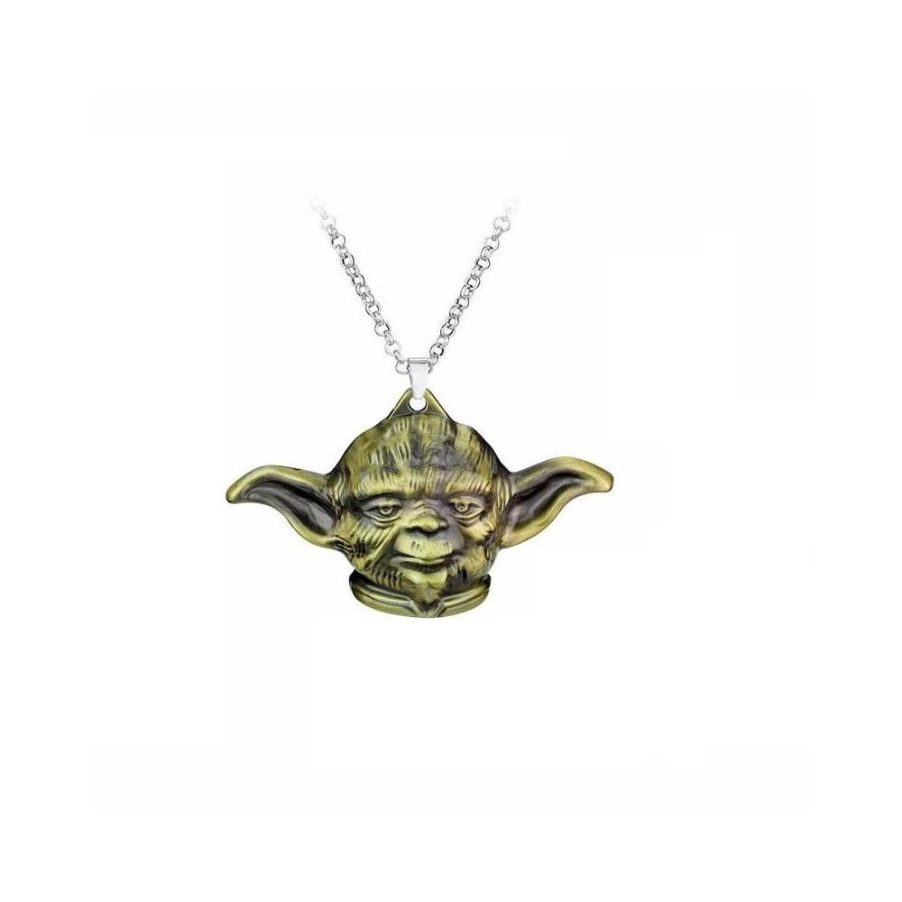 Lantisor Cu Pandantiv Star Wars Yoda Master Bronze zum403 Star Wars Diverse Medalioane