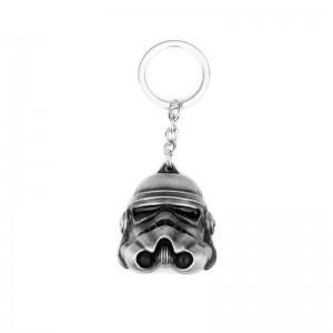 Breloc Star Wars Black Stormtrooper Argintiu zum404 Star Wars Brelocuri