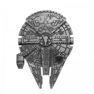 Insigna Star Wars Millennium Falcon , zum414 zum414 Star Wars Diverse Medalioane