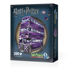 Puzzle 3D Harry Potter The Knight Bus 280 piese - Original W3D0507 Harry potter Puzzle