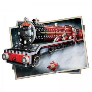 Puzzle 3D Harry Potter Hogwarts Express 460 piese - Original W3D1009 Harry Potter Puzzle