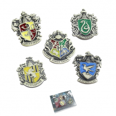 Set Insigne Harry Potter Hogwarts School Bronze zum432 Insigne
