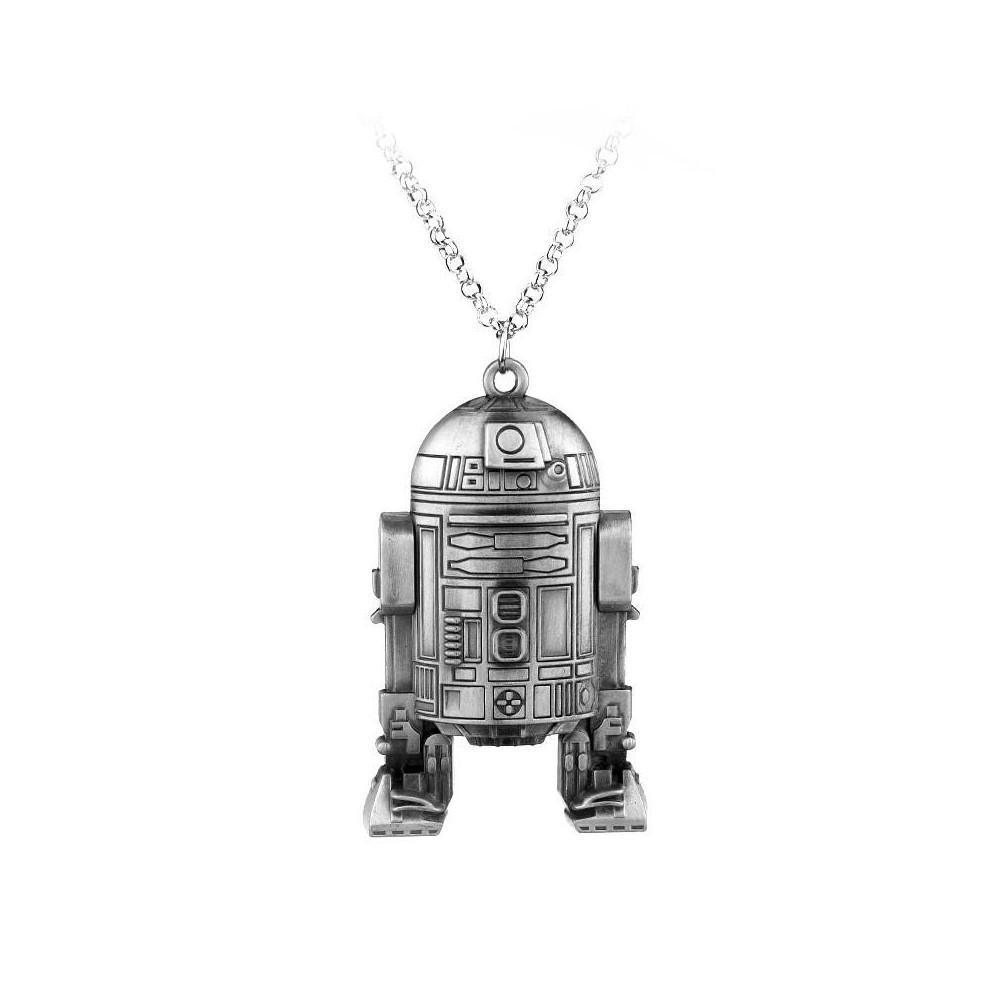 Lantisor Cu Pandantiv Star Wars R2-D2 Ambalaj Star Wars zum463 Star Wars Diverse Medalioane