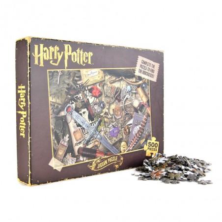 Puzzle Harry Potter Horcruxes 500 piese HMB-PUZZHP06  Puzzle