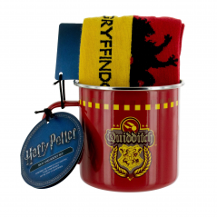 Set Cana Metalica Harry Potter + Sosete Harry Potter Gryffindor Quidditch PP3861HP Harry potter Cani