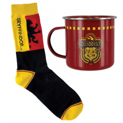 Set Cana Metalica Harry Potter + Sosete Harry Potter Gryffindor Quidditch PP3861HP Cani