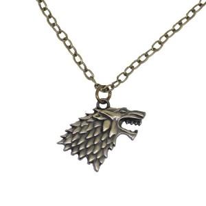 Pandantiv Medalion Lantisor Lup Game Of Thrones Ambalaj Game Of Thrones 339 Fan Zone