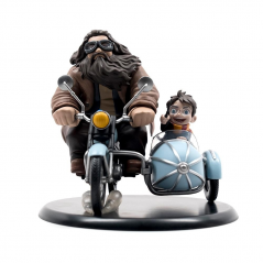 Figurina Harry Potter - Harry Potter & Rubeus Hagrid 15 cm QMXHP-0110 Figurine Harry Potter