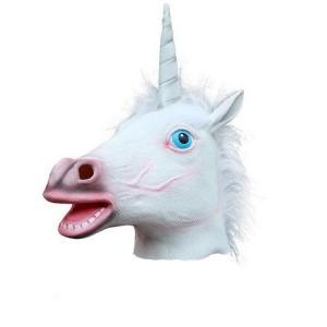 Masca latex cal unicorn 489 Masti si Costume