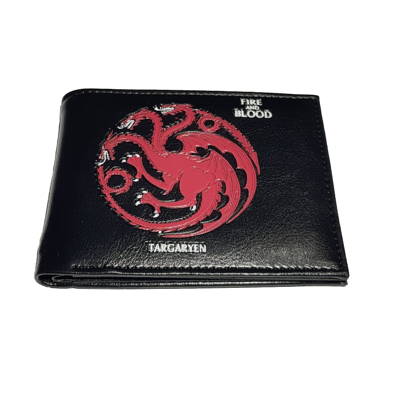 Portofel Game of Thrones Fire and Blood Targaryen Black zum495 Game of Thrones Portofele
