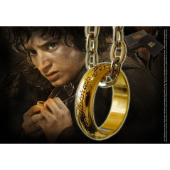 Medalion Colier Inel Lord Of The Rings - Original NN0903 Colectabile