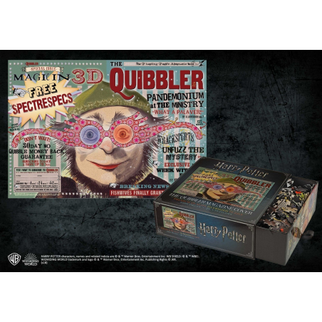 Puzzle Harry Potter The Quibbler Magazine 1000 piese NN9453  Puzzle