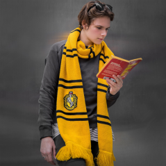Fular Harry Potter Hufflepuff - Deluxe Edition CR1024 Harry Potter Fulare