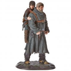 Figurina Game of Thrones - Statue Hodor & Bran - 23 cm DAHO26-340 Figurine Game of Thrones