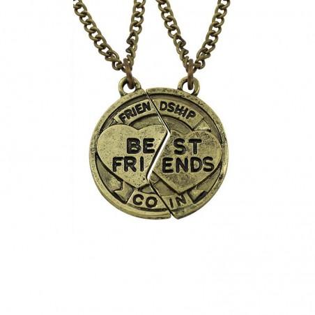 Pandantiv Medalion Colier Lantisor Best Friend Friends zum93 Best Friends