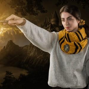 Fular Harry Potter Hufflepuff - Fular Circular 140 cm - Original ZUMCR1044 Harry Potter Fulare