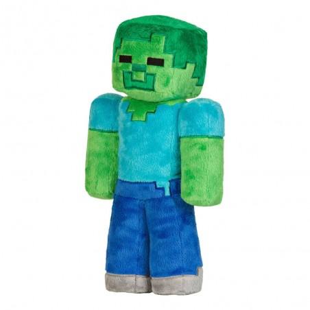 Jucarie de plus Zombie, Minecraft , 30 cm - Original Jinx JNX4636 Jucarii de plus