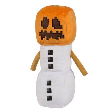 Jucarie de plus Snow Golem , Minecraft , 29 cm - Original Jinx JNX60233 Jucarii de plus