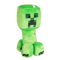 Jucarie de plus Happy Explorer Creeper , Minecraft , 18 cm - Original Jinx JNX70393
