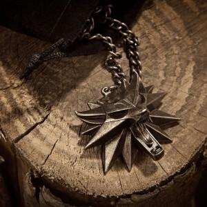 Pandantiv Medalion Lantisor Colier The Witcher 3 Wild Hunt - Jinx - Original JNXWLFMDLLN Medalioane