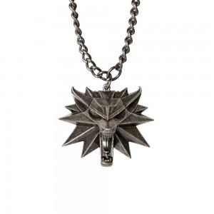 Pandantiv Medalion Lantisor Colier The Witcher 3 Wild Hunt - Jinx - Original JNXWLFMDLLN Colectabile