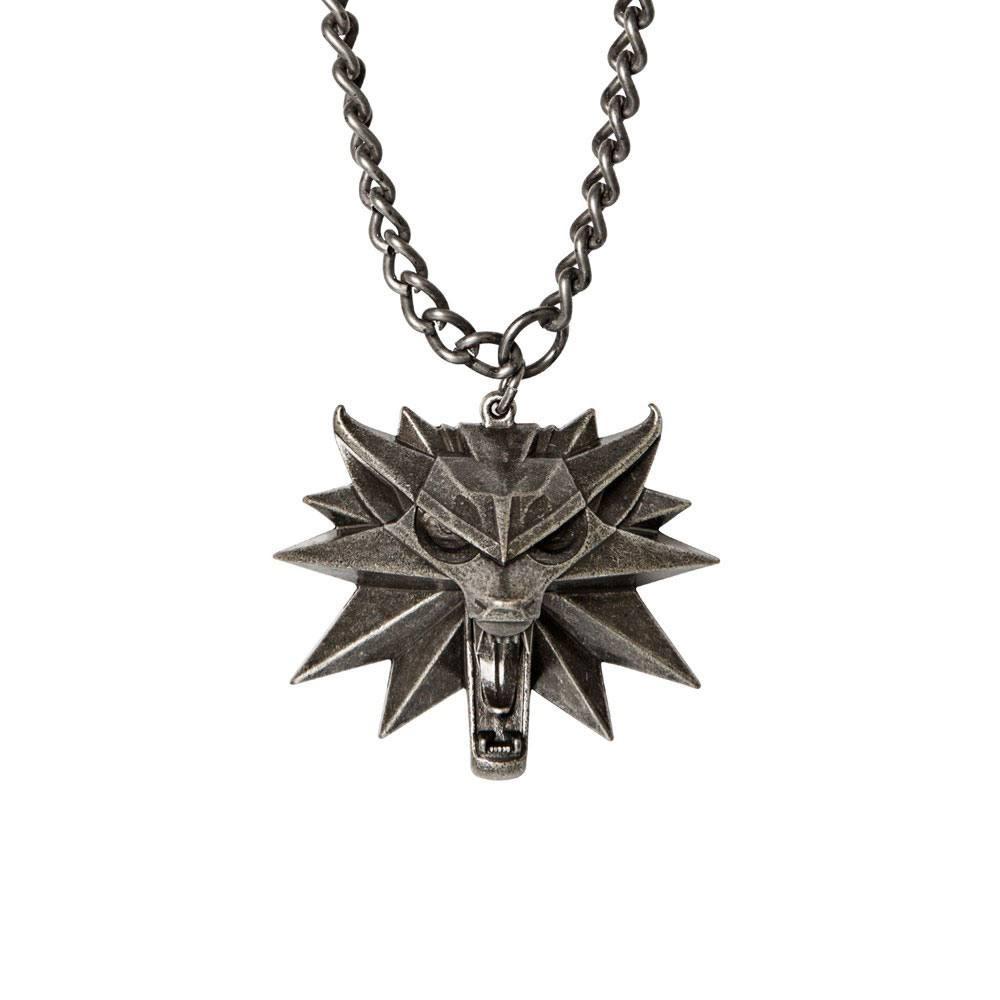Lantisor Cu Pandantiv The Witcher 3 Wild Hunt - Jinx - Original JNXWLFMDLLN CD Projekt Red Medalioane The Witcher